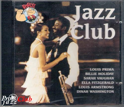 (Early Jazz, Swing, Vocal) VA - Jazz Club (Louis Prima, Billy Holiday, Sarah Vaughan, Ella Fitzgerald, Louis Armstrong, Dinah Washington a.o.) - 1996, APE (image+.cue), lossless