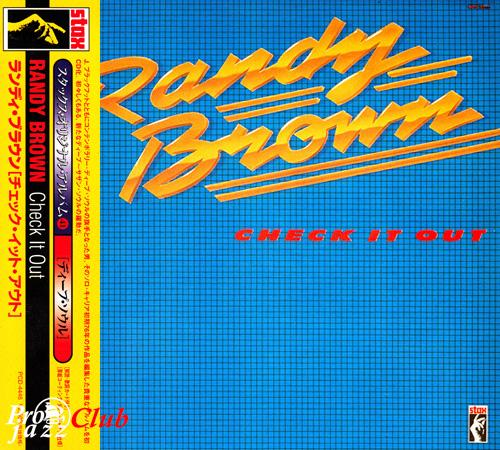 (Soul) [CD] Randy Brown - Check It Out (1981) - 1997, FLAC (tracks+.cue), lossless