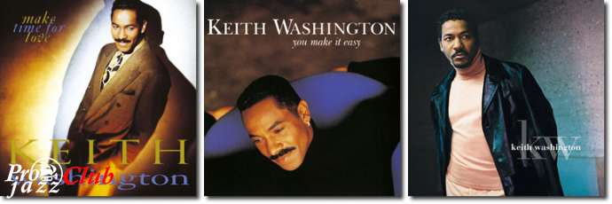 (Funk, Soul, R&B) [CD] Keith Washington - Collection, 3 Albums - 1991-1998, FLAC (tracks+.cue), lossless