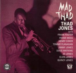 (Bop, Hard Bop) Thad Jones - Mad Thad {1957} - 1999, FLAC (image+.cue), lossless