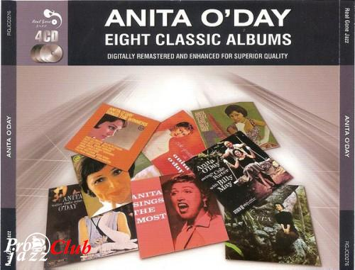 (Easy Listening, Swing, Cool Jazz) [CD] Anita O'Day - Eight Classic Albums (4 CD) - 2011, FLAC (image+.cue), lossless