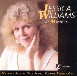 1992 Jessica Williams - The Maybeck Recital Series, Vol. 21 {Concord Jazz} [CD]