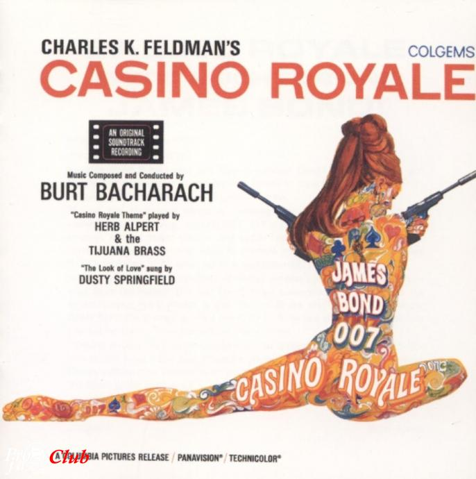 1967 Burt Bacharach ‎– Casino Royale (2000) {Colgems, Classic DAD 1033} [24-192]