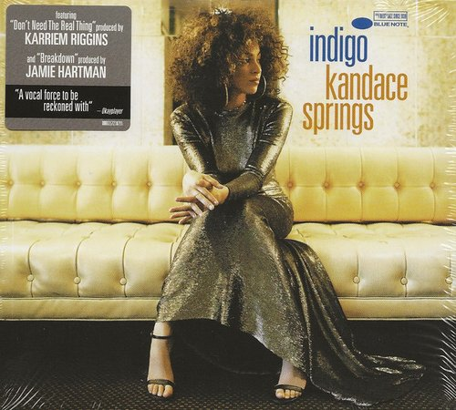2018 Kandace Springs - Indigo {Blue Note 00602567218791} [CD]