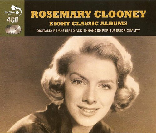 1955-1961 Rosemary Clooney - Eight Classic Albums (2013) {Real Gone RGMCD058} [4CD]