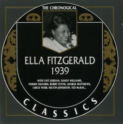 1990 Ella Fitzgerald - 1939 {The Chronological Classics 525} [CD]