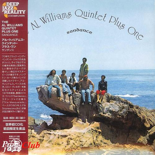 (Jazz-Funk, Fusion, Modal Music) [CD] The Al Williams Quintet Plus One - Sandance - 1976 (2012 Japan Mini-LP Edition), FLAC (tracks+.cue), lossless