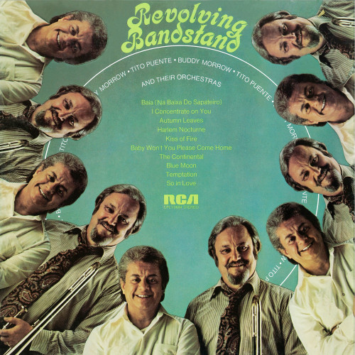 1960 Tito Puente & Buddy Morrow And Their Orchestras - Revolving Bandstand (2019) {RevOla} [24-44,1]