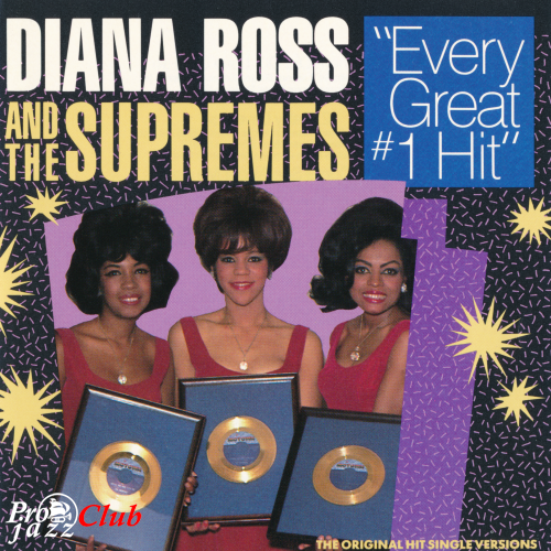 (Funk, Soul, Pop, Soul) [CD] Diana Ross And The Supremes - Every Great #1 Hit - 1987, FLAC (image+.cue), lossless