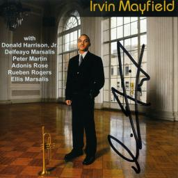 (Straight-Ahead Jazz, Trumpet) Irvin Mayfield - Irvin Mayfield (with Donald Harrison Jr., Delfeayo Marsalis, Peter Martin, Adonis Rose, Rueben Rogers, Ellis Marsalis) - 1999, MP3, 320 kbps