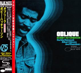 (Post-Bop) [CD] Bobby Hutcherson - Oblique (1967) - 2014 {Japan SHM-CD Blue Note 24-192 Remaster}, FLAC (tracks+.cue), lossless
