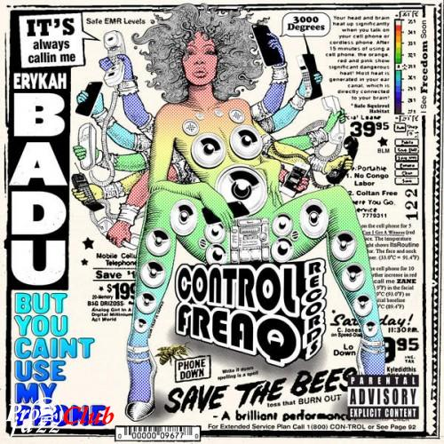 (Soul) [WEB] Erykah Badu - But You Caint Use My Phone - 2015, FLAC (tracks), lossless