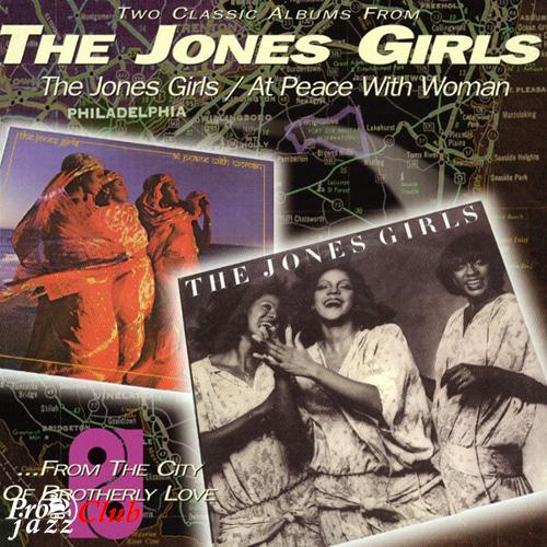 (Funk, Soul, R&B) [CD] The Jones Girls - The Jones Girls (1979) + At Peace With Woman (1980) - 1998 (2in1), FLAC (tracks+.cue), lossless