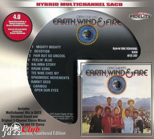 (Funk, Soul) [CD] Earth, Wind & Fire - Open Our Eyes - 1974 (2015 Audio Fidelity), FLAC (tracks+.cue), lossless