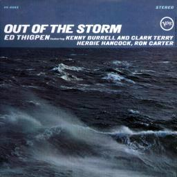 (Bop, Post-Bop) Ed Thigpen featuring Clark Terry, Herbie Hancock, Kenny Burrell, Ron Carter - Out Of The Storm (1966) - 1998, MP3, 320 kbps