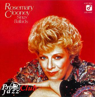(vocal,mainstream) Rosemary Clooney - Sings Ballads (Scott Hamilton, Ed Bickert ) - 1985, FLAC (image+.cue), lossless
