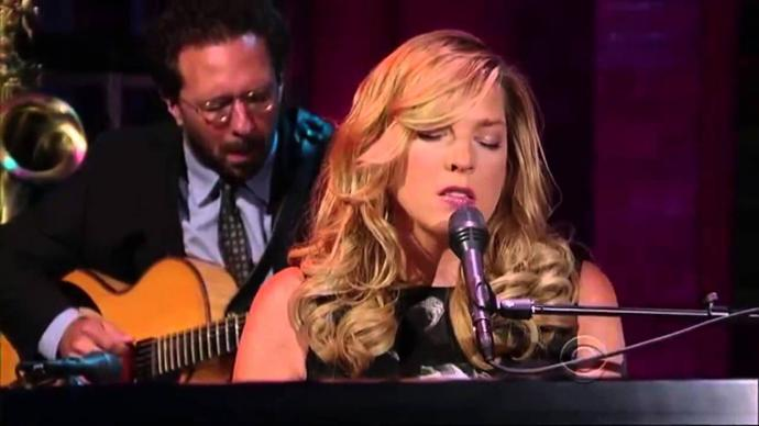 2009 Diana Krall - Quiet Nights (Live on Letterman) [HDTVrip 1080i]