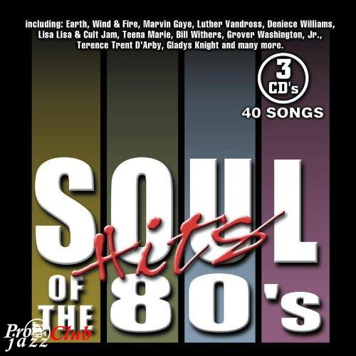 (Soul, Funk, R&B) [CD] VA - Soul Hits of the 80's (3CD) - 2004, FLAC (tracks+.cue), lossless