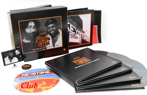 (Jazzy Blues/Funk/Soul) [CD] Merl Saunders & Jerry Garcia - Keystone Companions: The Complete 1973 Fantasy Recordings (Box Set 4 CD) - 2012, FLAC (tracks+.cue), lossless