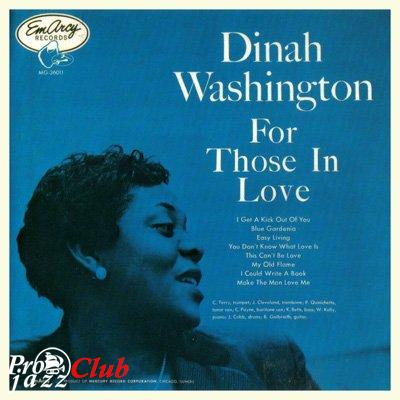(Vocal Jazz) Dinah Washington — For Those In Love (1955) — 1992, FLAC (image+.cue), lossless