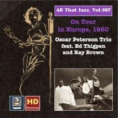 1960 The Oscar Peterson Trio - All That Jazz, Vol. 107 On Tour in Europe (2018) {Jube Legends} [24-48]