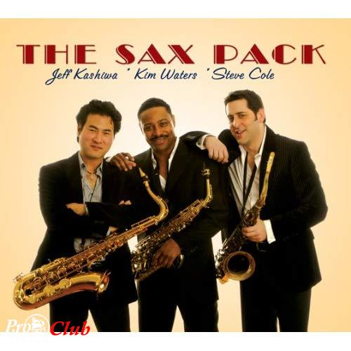 (smooth jazz) The Sax Pack (Jeff Kashiwa, Kim Waters, Steve Cole) - The Sax Pack - 2008, APE (image + .cue), lossless