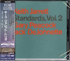 1983 Keith Jarrett, Gary Peacock, Jack DeJohnette - Standards, Vol. 2 (2018) {ECM} [DSD64 1-2,8]
