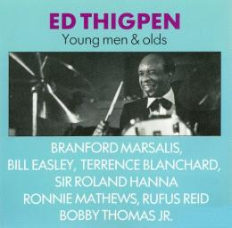 (Bop, Post-Bop) Ed Thigpen - Young Men & Olds - 1990, FLAC (image+.cue), lossless