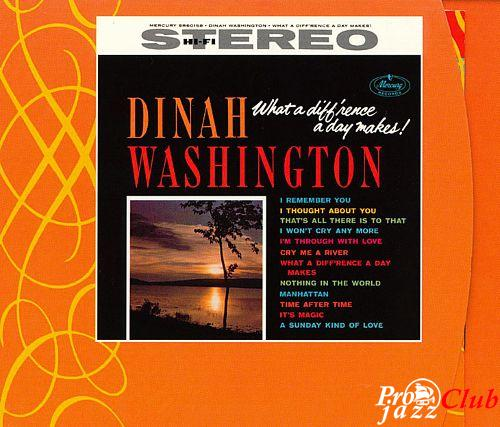 1959 Dinah Washington - What A Diff'rence A Day Makes! (2003) {Verve Mercury 0602498607800} [24-96]