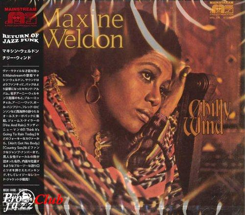 (Funk, Soul) [CD] Maxine Weldon - Chilly Wind - 1971 (2007 Japan Edition), FLAC (tracks+.cue), lossless