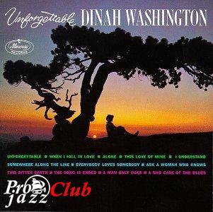 (Vocal Jazz) Dinah Washington - Unforgettable - 1991, FLAC (tracks+.cue), lossless