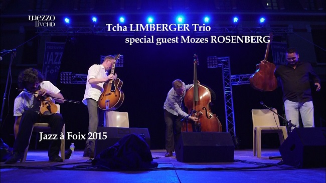 2014 Tcha Limberger Trio - At The Jazz a Foix Fest [HDTV 1080i]