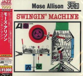 (Hard Bop, Vocal Jazz) [CD] Mose Allison - Swingin' Machine - 1962 (2013), FLAC (image+.cue), lossless