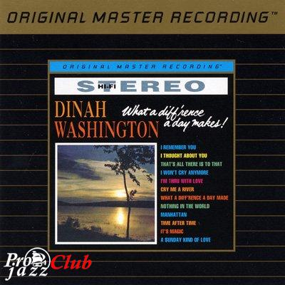 (Vocal Jazz) Dinah Washington — What A Diff'rence A Day Makes (1959) (MFSL UDCD 698) — 1997, FLAC (image+.cue), lossless