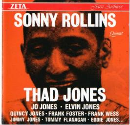 (Hard Bop) [CD] Sonny Rollins & Thad Jones - Quintet & Sextet {1956-1957} - 1988, FLAC (image+.cue), lossless