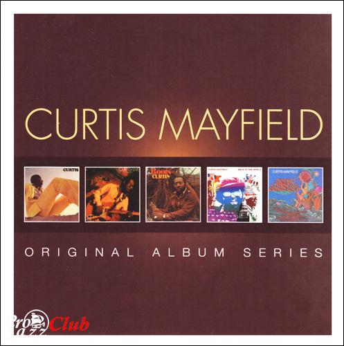 (Funk, Soul) [CD] Curtis Mayfield - Original Album Series 1970-1974 (5CD BoxSet) - 2013, FLAC (tracks+.cue), lossless
