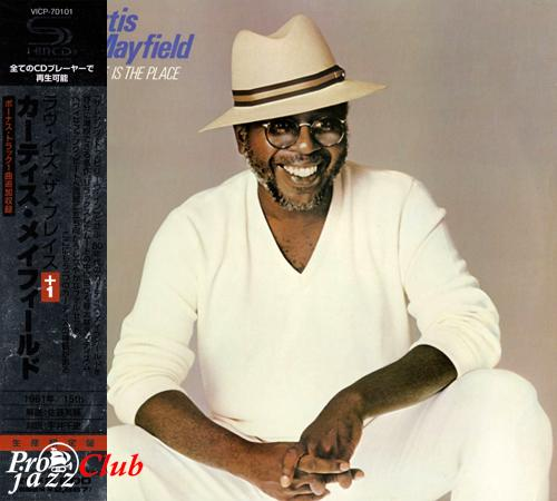 (Funk, Soul) [CD] Curtis Mayfield - Love Is The Place (1981) - 2009 {Japan SHM-CD, VICP-70101}, FLAC (tracks+.cue), lossless