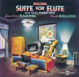 1975, 1986 Claude Bolling & Jean-Pierre Rampal - Suite For Flute And Jazz Piano Trio (2CD)