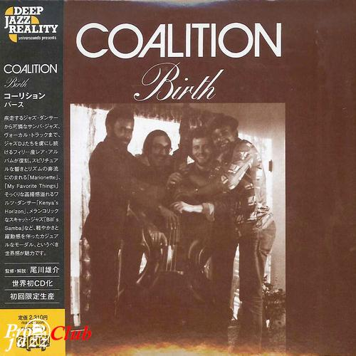 (Soul-Jazz, Modal Music) [CD] Coalition - Birth - 1978 (2013 Japan Mini-LP Edition), FLAC (tracks+.cue), lossless