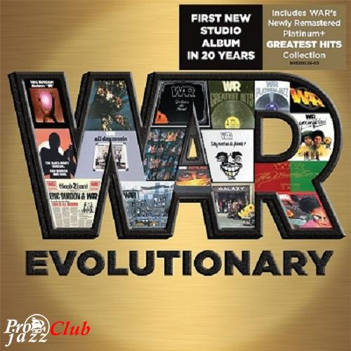 (Funk, Soul, R&B, Blues) [CD] War - Evolutionary (2CD) - 2014, FLAC (tracks+.cue), lossless