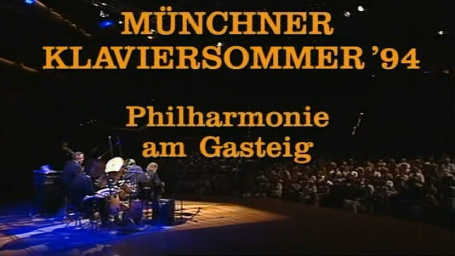 1994 Oscar Peterson Quartet - Munchner Klaviersommer Philharmonie am Gasteig (part 1)