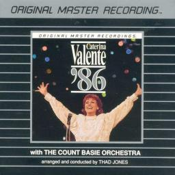 (Vocal Jazz) [CD] Caterina Valente - Caterina Valente '86 with The Count Basie Orchestra (w/ Thad Jones) - 1986 (MFSL), FLAC (tracks+.cue), lossless