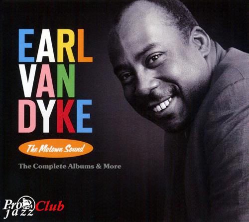 (Soul-Jazz, R&B) [CD] Earl Van Dyke - The Motown Sound: The Complete Albums & More (2CD) - 2012, FLAC (tracks+.cue), lossless