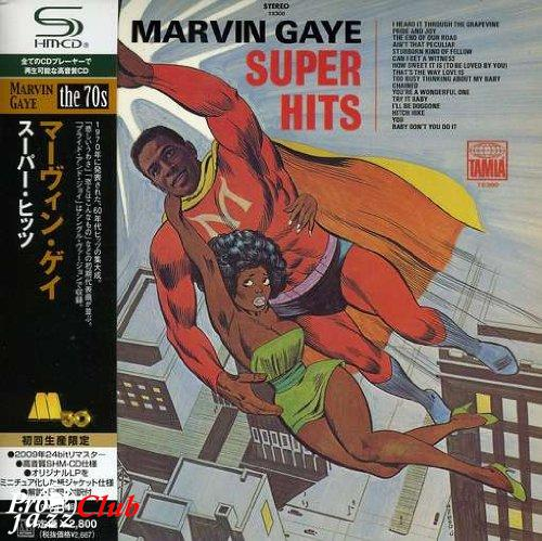 (R&B/Soul) Marvin Gaye - Super Hits (Japan SHM-CD) - 2009, FLAC (tracks+.cue), lossless