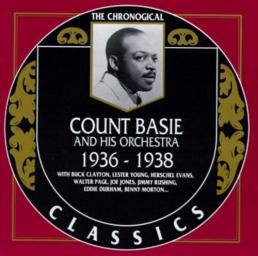 1990 Count Basie And His Orchestra - 1936-1938 {The Chronological Classics CC503} [CD]