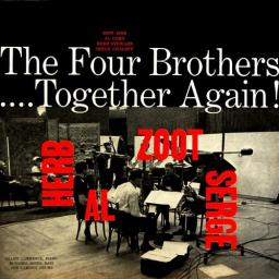 1957 The Four Brothers - .... Together Again! (2017) {RCA, Legacy, Sony} [CD]
