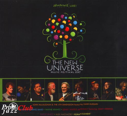(Jazz-Rock,Fusion) VA - The New Universe Music Festival/feat.John McLaughlin,Alex Machacek,Weyne Krantz - Abstract Logix Live! 2CD - 2010, APE (image+.cue), lossless