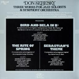 (Crossover Jazz, Neo-Classical) [2xLP][24/96] Don Sebesky - Three Works For Jazz Soloists & Symphony Orchestra - 1979, FLAC (tracks)