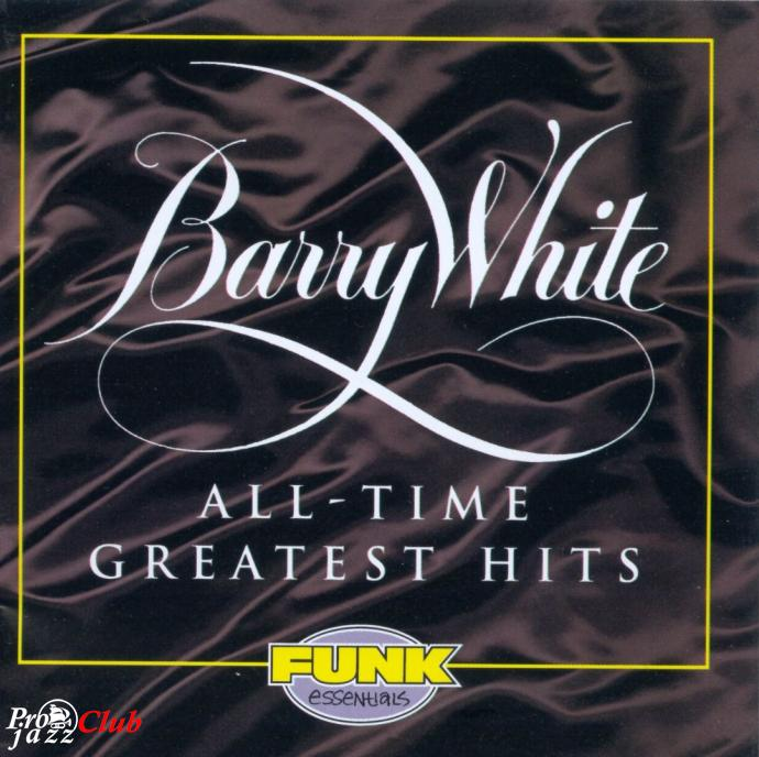 1994 Barry White - All-Time Greatest Hits {Mercury 522 459-2}