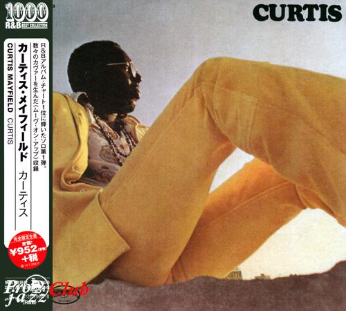 (Funk, Soul) [CD] Curtis Mayfield - Curtis (1970) - 2014 {1000 R&B Best Collection, WPCR-27702}, FLAC (tracks+.cue), lossless